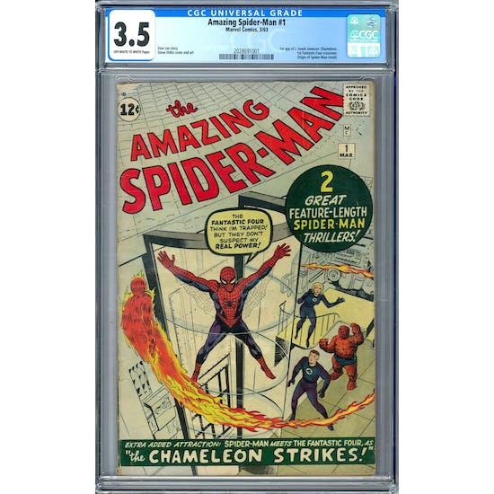 Amazing Spider-Man #1 CGC 3.5 (OW-W) *2028691001*