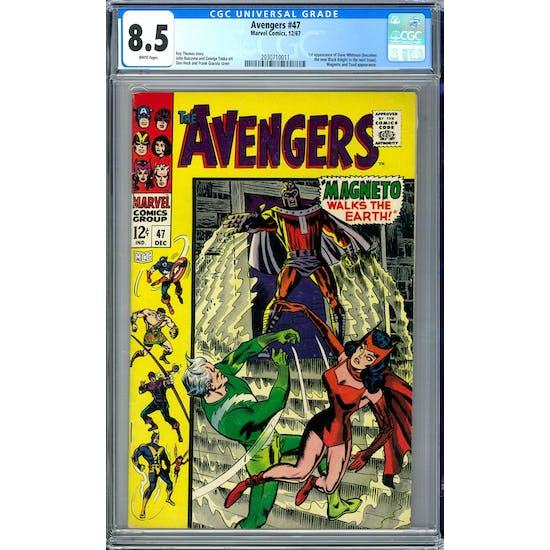 Avengers #47 CGC 8.5 (W) *2030710011*