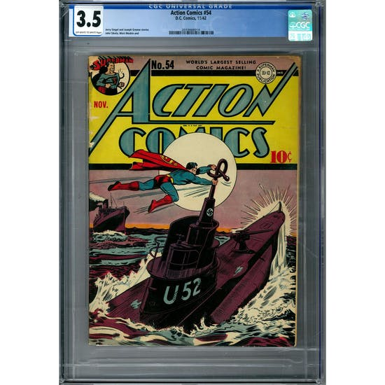 Action Comics #54 CGC 3.5 (OW-W) *2033666014*