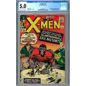 X-Men #4 CGC 5.0 (OW-W) *2033751005*