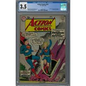 Action Comics #252 CGC 3.5 (C-OW) *2035217016*