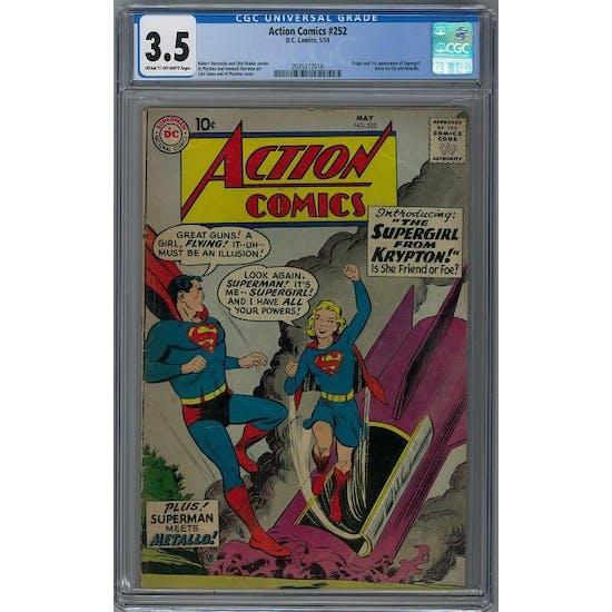 Action Comics #252 CGC 3.5 (C-OW) *2035217016*