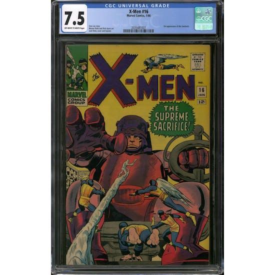 X-Men #16 CGC 7.5 (OW-W) *2035481007*