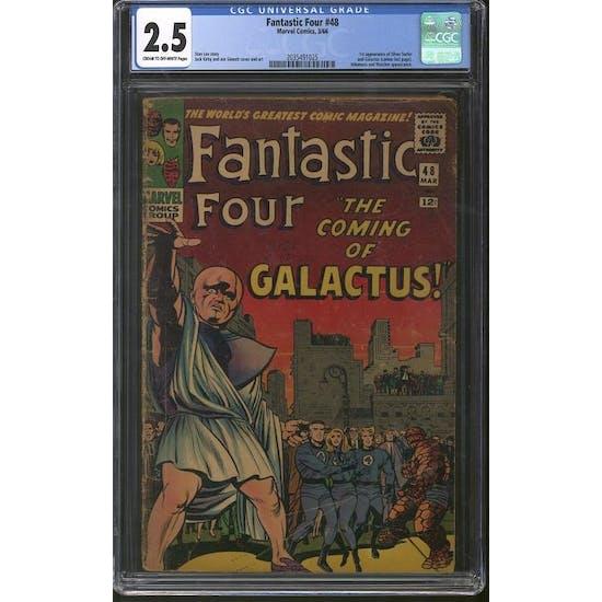 Fantastic Four #48 CGC 2.5 (C-OW) *2035491025*