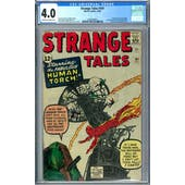 Strange Tales #101 CGC 4.0 (OW-W) *2036209001*
