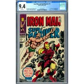 Iron Man and Sub-Mariner #1 CGC 9.4 (W) *2036209002*