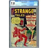 Strange Tales #115 CGC 7.0 (OW-W) *2036209003*