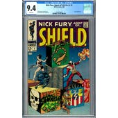 Nick Fury, Agent of S.H.I.E.L.D. #1 CGC 9.4 (W) *2036209005*