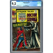 Strange Tales #154 CGC 9.2 (W) *2036209011*