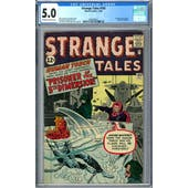Strange Tales #103 CGC 5.0 (OW-W) *2036209021*
