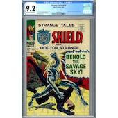 Strange Tales #165 CGC 9.2 (OW-W) *2036209023*
