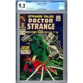 Strange Tales #166 CGC 9.2 (W) *2036209024*
