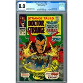 Strange Tales #156 CGC 8.0 (OW-W) *2036210003*