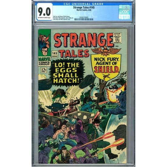 Strange Tales #145 CGC 9.0 (OW-W) *2036210005*