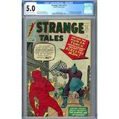 Strange Tales #111 CGC 5.0 (OW-W) *2036210010*