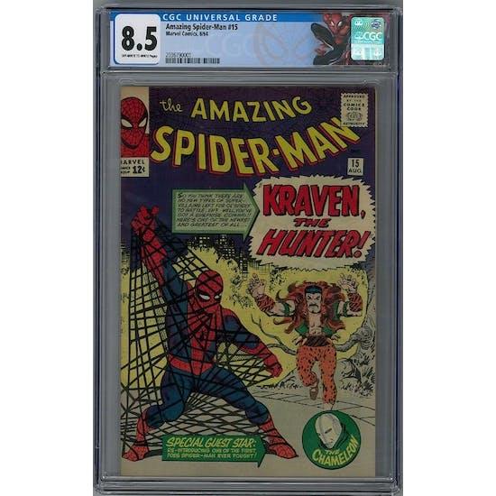 Amazing Spider-Man #15 CGC 8.5 (OW-W) *2036790001*