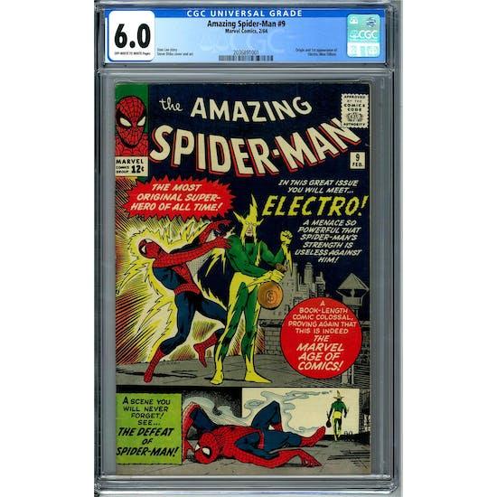 Amazing Spider-Man #9 CGC 6.0 (OW-W) *2036891001*