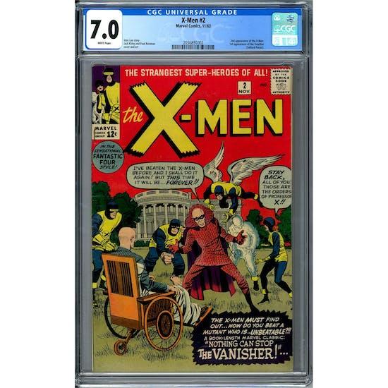 X-Men #2 CGC 7.0 (W) *2036891002*
