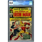 Tales of Suspense #58 CGC 8.0 (W) *2036891004*