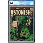 Tales to Astonish #27 CGC 3.5 (OW) *2036892001*
