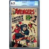 Avengers #4 CGC 6.5 (C-OW) *2036892003*