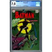 Batman #189 CGC 7.0 (OW) *2036893003*