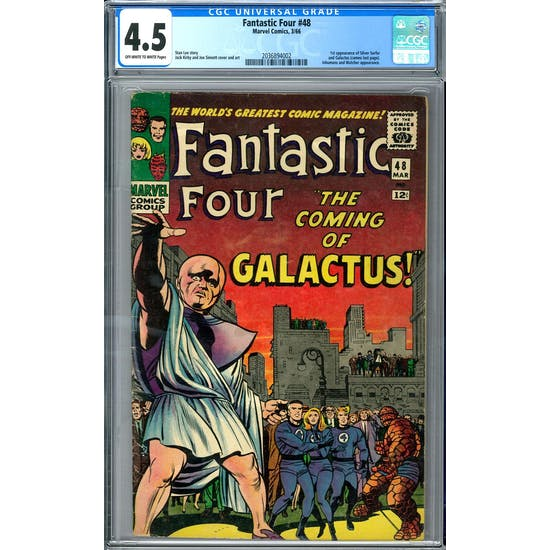 Fantastic Four #48 CGC 4.5 (OW-W) *2036894002*