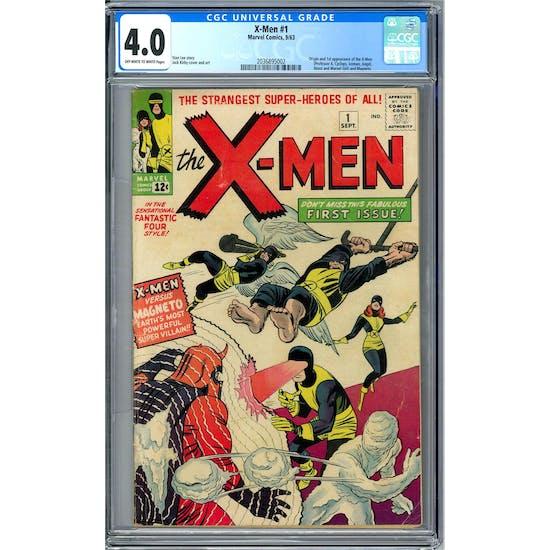 X-Men #1 CGC 4.0 (OW-W) *2036895002*