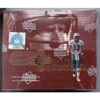 1998 Upper Deck SPx Finite Series 2 Football Hobby Box