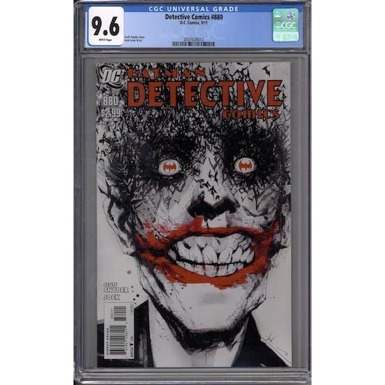 Detective Comics #880 CGC 9.6 (W) *2037626012*