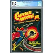 Captain Marvel Jr #114 CGC 8.0 (W) *2037691001*