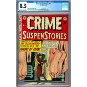 Crime SuspenStories #11 CGC 8.5 (OW-W) *2037691002*
