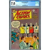 Action Comics #197 CGC 7.0 (OW-W) *2037692003*