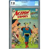 Action Comics #200 CGC 7.0 (OW-W) *2037692004*