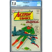 Action Comics #224 CGC 7.5 (OW-W) *2037692005*