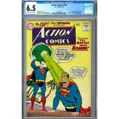 Action Comics #254 CGC 6.5 (OW-W) *2037692008*