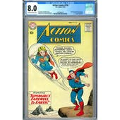 Action Comics #258 CGC 8.0 (OW-W) *2037692010*