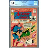 Action Comics #274 CGC 8.0 (OW) *2037692011*