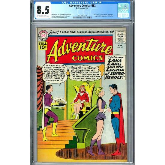 Adventure Comics #282 CGC 8.5 (OW-W) *2037692018*