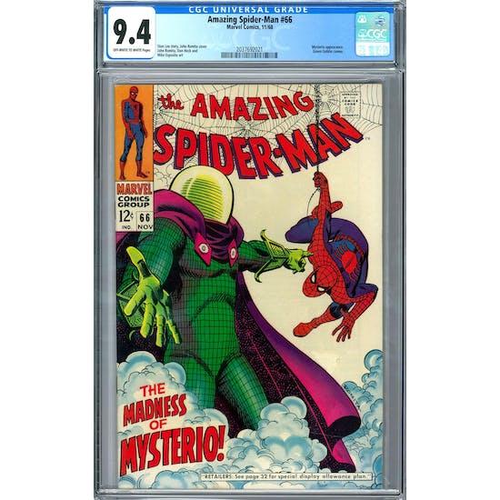 Amazing Spider-Man #66 CGC 9.4 (OW-W) *2037692021*