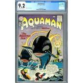 Aquaman #5 CGC 9.2 (OW-W) *2037692024*