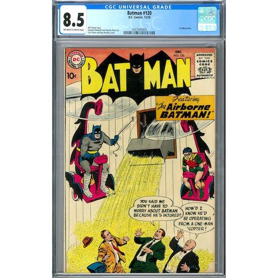 Batman #120 CGC 8.5 (OW-W) *2037693005*