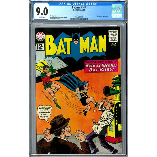 Batman #147 CGC 9.0 (W) *2037693006*
