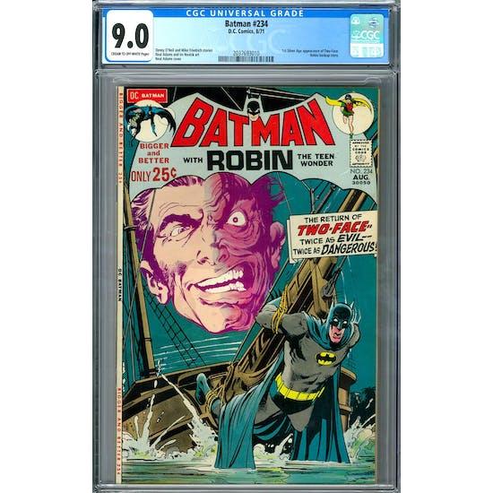 Batman #234 CGC 9.0 (C-OW) *2037693010*