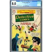 Detective Comics #237 CGC 8.0 (OW-W) *2037702004*