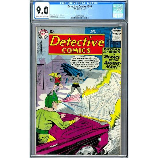 Detective Comics #280 CGC 9.0 (C-OW) *2037702009*