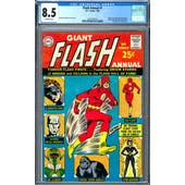 Flash Annual #1 CGC 8.5 (OW) *2037702014*