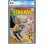 Hawkman #2 CGC 8.0 (W) *2037702019*