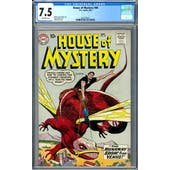 House of Mystery #90 CGC 7.5 (OW) *2037702021*
