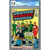 Justice League of America #8 CGC 7.0 (OW-W) *2037702024*